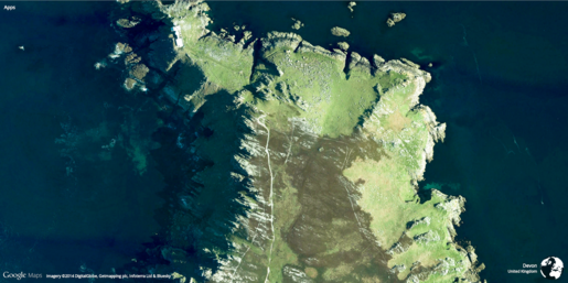 Earth View from Google Maps